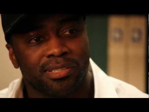 Former #patriots and #jets running back Curtis Martin sat down for an interview after visiting the Hall of Fame on Monday, April 9, 2012.