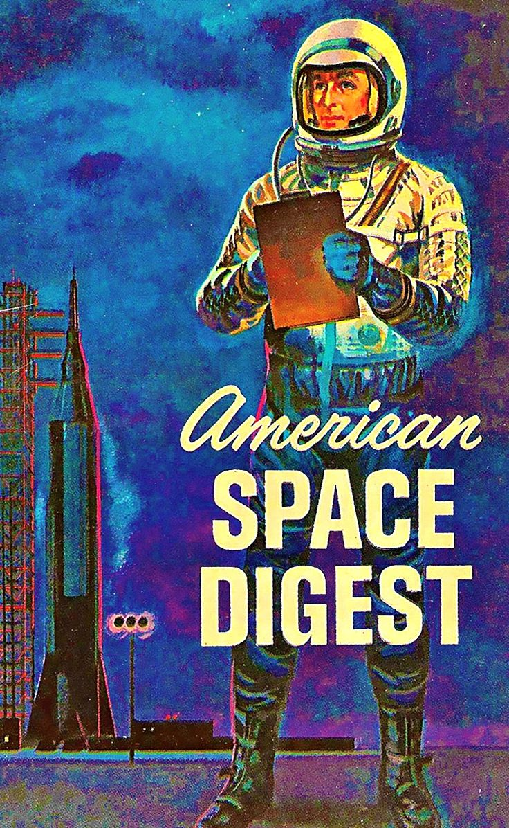 American Space Digest 1963  I have this book, it's pretty awesome.