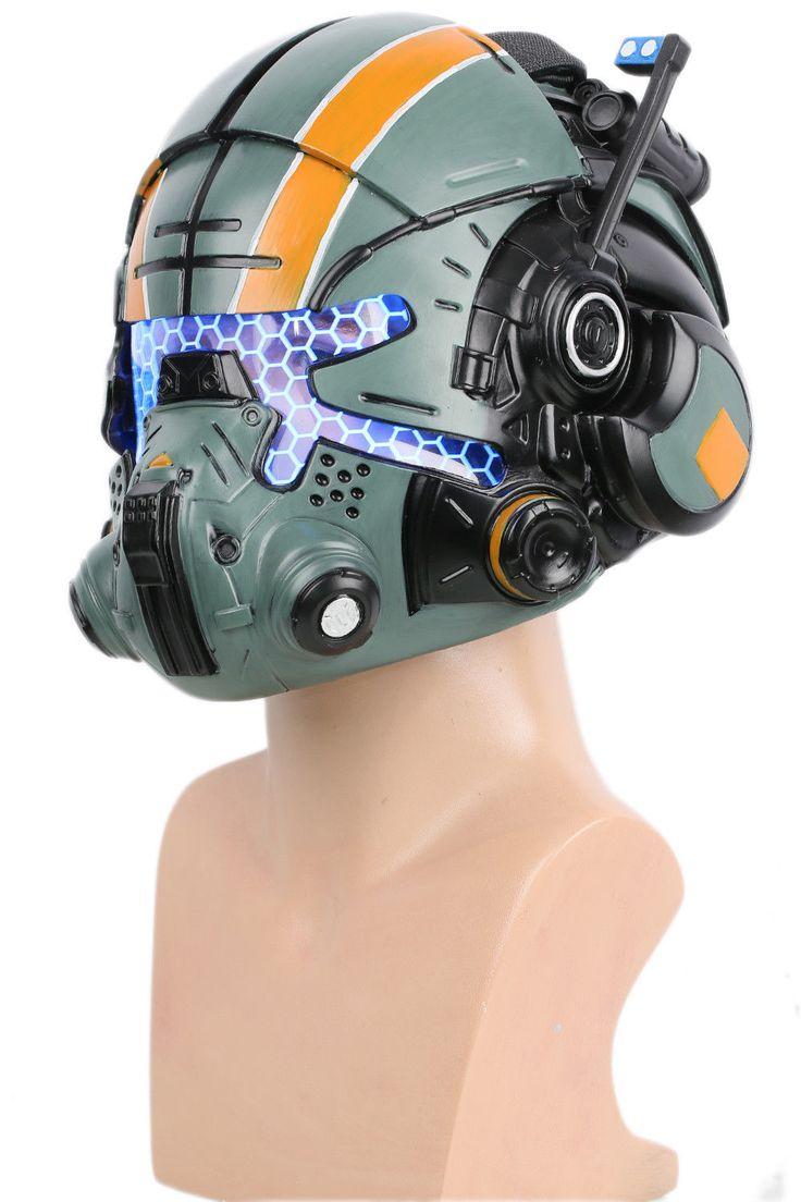 Jack Cooper Helmet Titanfall 2 Cosplay Mask Costume Prop ...