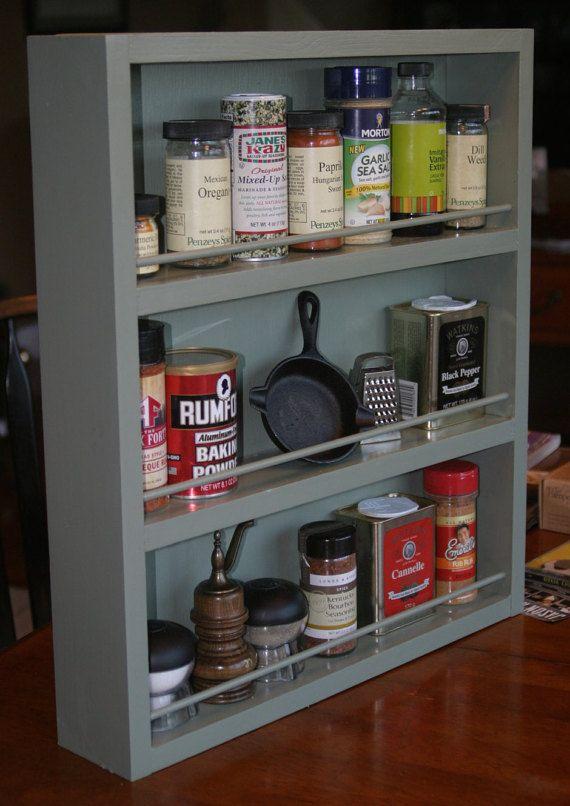 Die besten 25+ Large spice rack Ideen auf Pinterest Gewürzregale - ordnung im küchenschrank