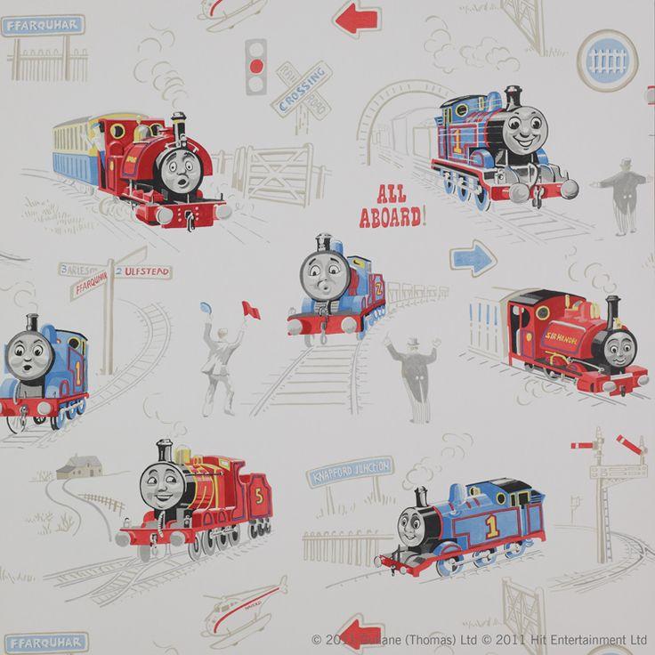 Kiddy wallpaper   Scenic Thomas by Jane Churchill
