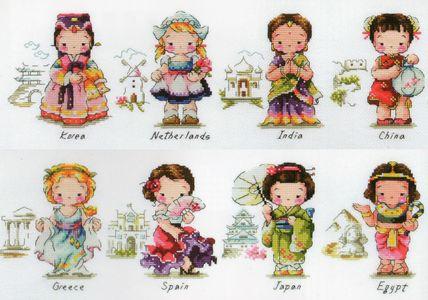 Soda Stitch - World Collection (girl)