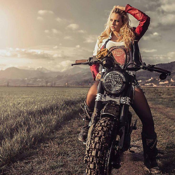 Ducati Scrambler girl – #Ducati #girl #Scrambler   – Auto und Mädchen – #Auto #…