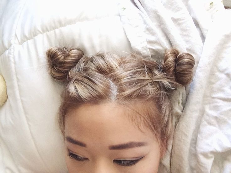 Buns Hairstyles 22 Best Double Bun Hairstyle Images On Pinterest  Make Up Looks
