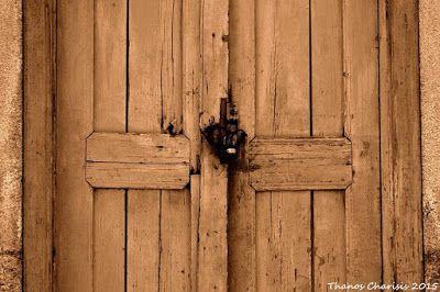 Σκέψεις: Αμπαρωμένη πόρτα, Τάσος Ορφανίδης