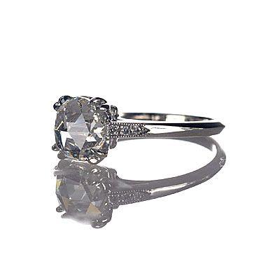 Leigh Jay Nacht Inc. - Replica Art Deco Engagement Ring - 3104-05