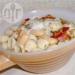 Foto de receta: Sopa de porotos blancos y panceta