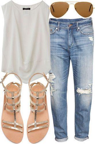 20 Style Tips On How To Wear Boyfriend Jeans