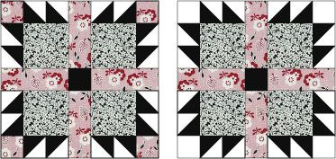 Follow These Easy Instructions to Make Bear's Paw Quilt Blocks: About the Bear's Paw Quilt Block Pattern