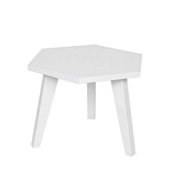Sofatisch in Weiß Kiefer massiv sechseckig Jetzt bestellen unter: https://moebel.ladendirekt.de/wohnzimmer/tische/beistelltische/?uid=7663b353-ab55-5147-87d3-009eed5b9f31&utm_source=pinterest&utm_medium=pin&utm_campaign=boards #tischgestell #sofa #designertische #wohnzimmertisch #vollholztisch #couchtisch #beistelltisch #anstelltisch #beistelltische #designer #massiv #echtholztisch #tische #beistelltischchen #massivholz #massivholztisch #tisch #sofatisch #wohnzimmer #holztisch