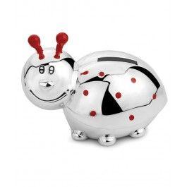 Pusculita argintata Buburuza este o modalitate distractiva de a-i invata pe cei mici valoarea banilor