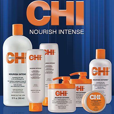 Sconti fino al 32% CHI Nourish Intense: Prodotti ideali per nutrire e riparare i capelli secchi e danneggiati, donano morbidezza e una brillantezza ottimale