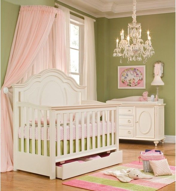 4-in-1 convertible baby crib