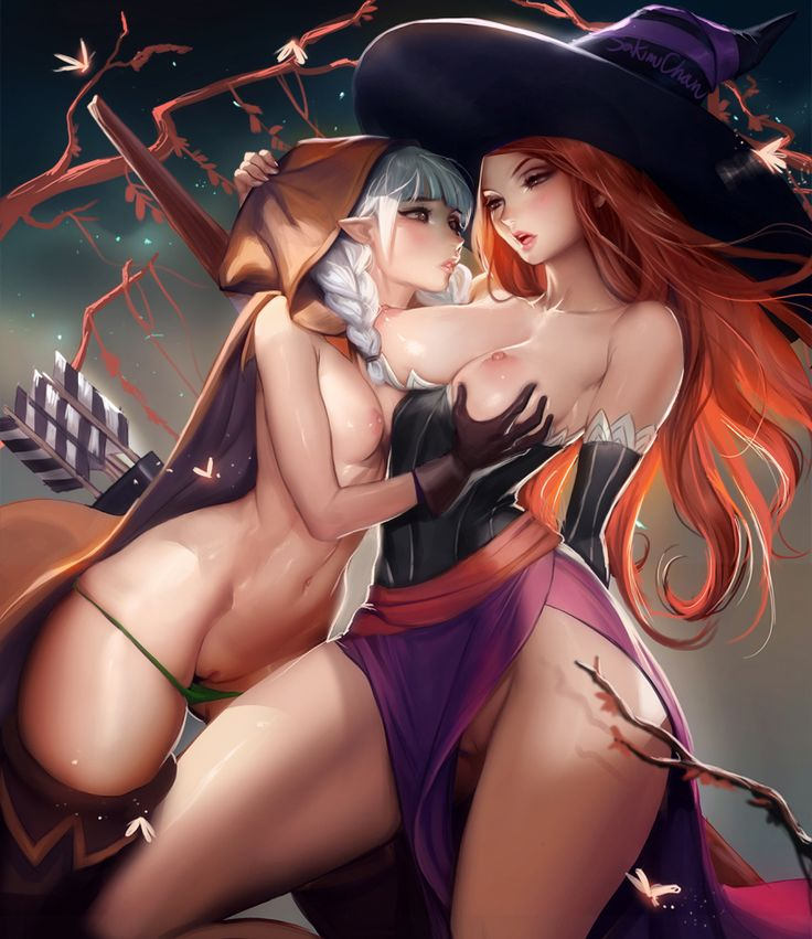 Dragon's Crown - Elf & Sorceress