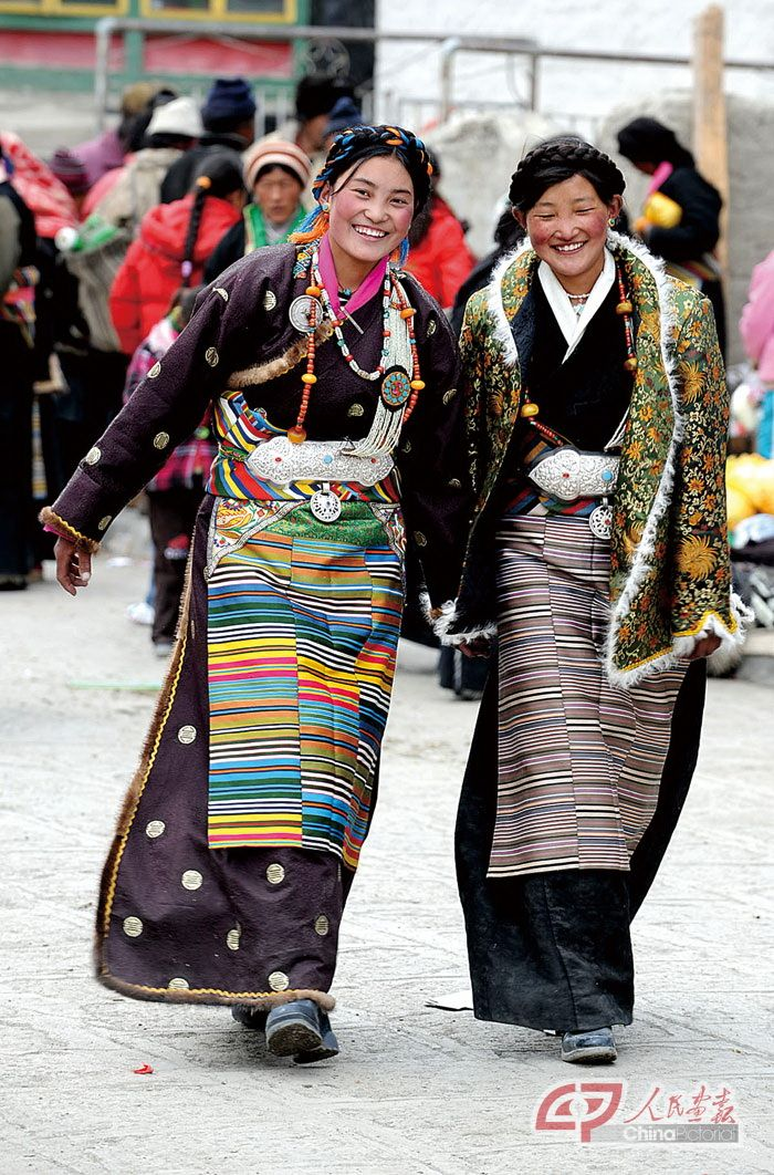Tibet.....This dress bears a strong resemblance to Japanese kimono. Because we are the same Urals Altaic people.