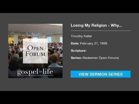 Authentic Christianity – Timothy Keller [Sermon] - YouTube