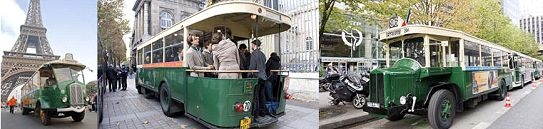 Paris en bus anciens pour les Journées européennes du patrimoine 2013. Un parcours à bord de bus ayant marqué l'histoire des transports en commun parisiens, pour vivre la ville dans une ambiance années 30. Les fameux bus TN à plate-forme seront une nouvelle fois mis à l'honneur, pour des voyages empreints de nostalgie ! >> Départ Maison de la RATP samedi de 8 h à 13 h et dimanche de 10 h à 17 h