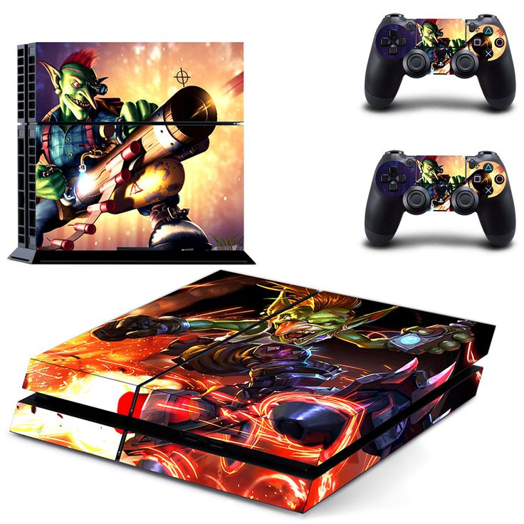 War of Warcraft Hearthstone ps4 skin for console and controllers