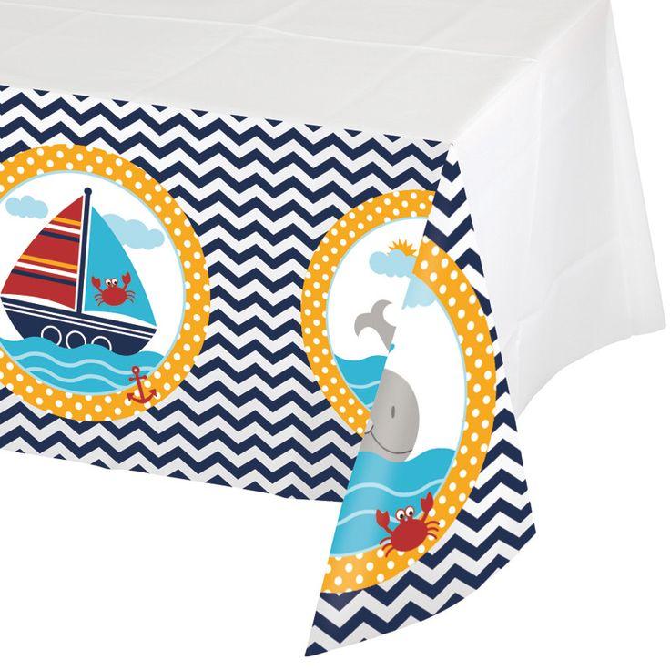 Nappe voilier pour l'anniversaire de votre enfant - Annikids