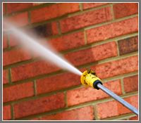 How to Power Wash a Brick House. The power washing experts at Pressure Washers Direct have compiled a helpful how-to guide to washing a brick house. Watch the video on how to pressure wash a brick house and your house will look new in no time.