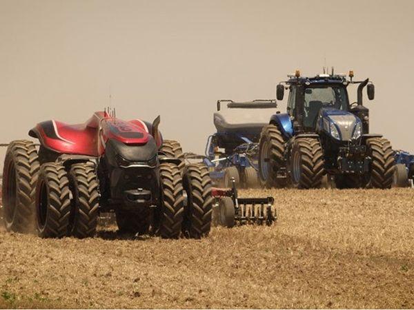Tracteur connecte autonome danger