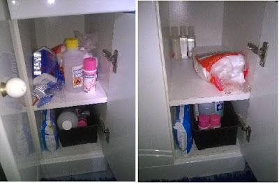 Arrumar o movel de wc