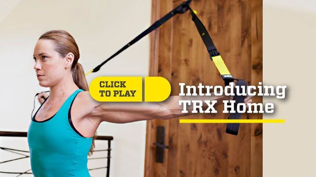 TRX Suspension Training uses bodyweight to develop strength, core stability, flexibility and balance.
