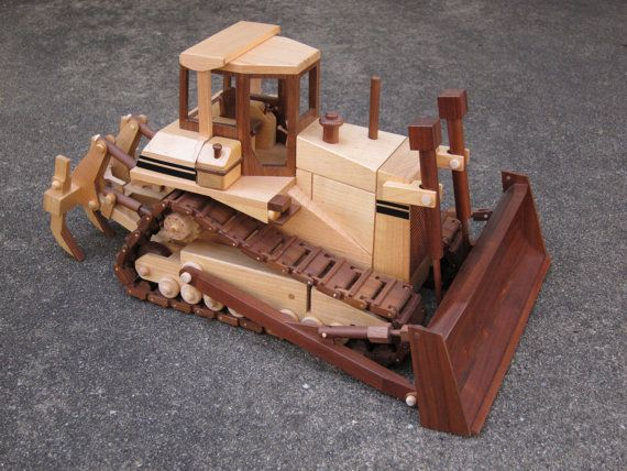 High Tract Dozer by gbtrains on Etsy, $295.00