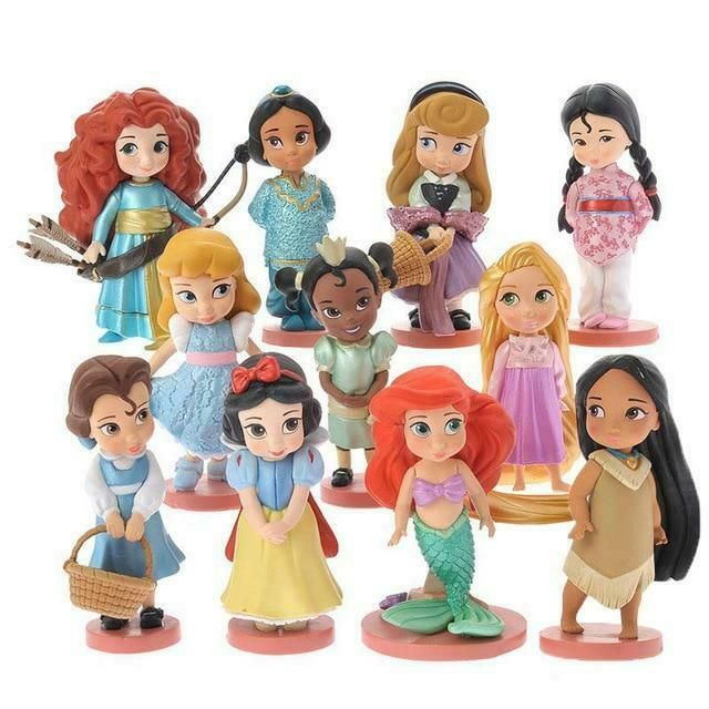 Stuffed Animals & Plush Toys & Hobbies Cute Princess Ariel Snow White Cinderel Plush Keychain Toy Cartoon Pendant Stuffed Doll Girls Party Birthday Gifts Multicolor