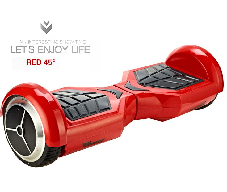 Overload Two Wheel Self Balancing Electric Scooter. Much Easier to Ride, Safer, Portable.Shop it at www.1deals.us