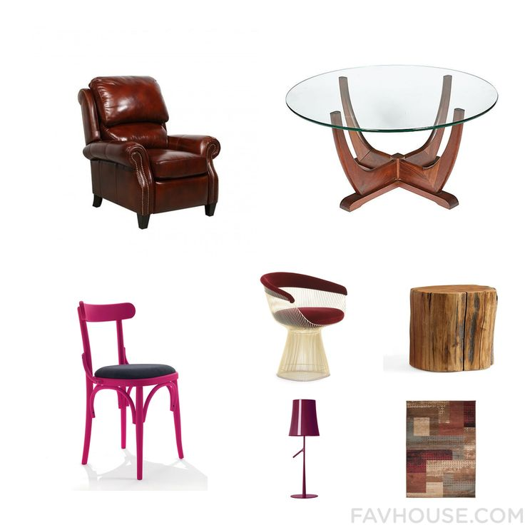 Home Decor Mix Including Barcalounger Recliner Walnut Table Chair And Mid Century Modern Chair From November 2016 #home #decor