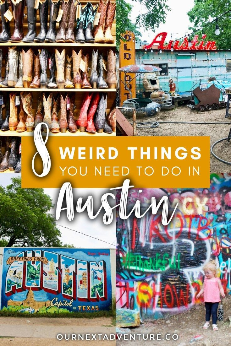 8 Awesomely Weird Things To Do In Austin Austin Travel Texas