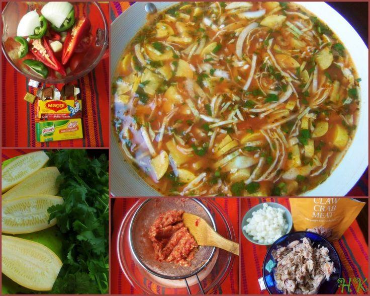 Caldo de Cangrejo y Limon (Crab and Lime Soup) - Hispanic Kitchen