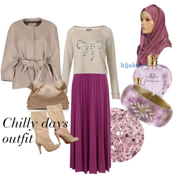 """""""Chilly days outfit"""" by modestfashion on Polyvore with kuwaiti hijab from www.hijabnow.com"""