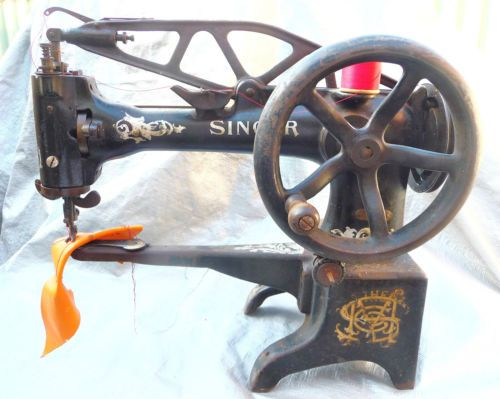 Industrial Sewing Machine Singer 40 40K Boot Makers Leather Patcher Cool Singer Sewing Machine For Leather