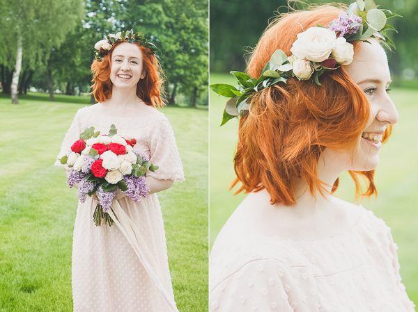 весенний образ #wedding #bride #flowers