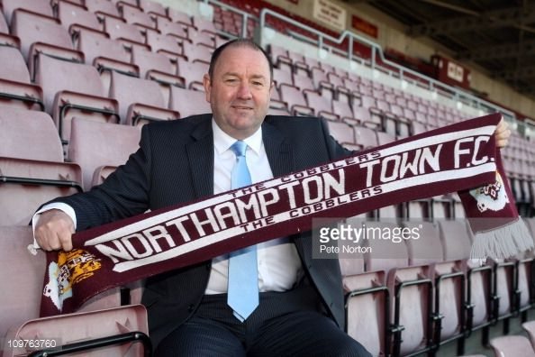 Northampton Town FC Press Conference To Announce New Manager Gary ...