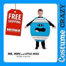 Mr Men costumes