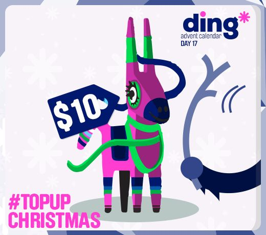Its day 17 of our #Christmas Advent Calendar and only 8 days until Christmas Day! We have broken open a pinata to celebrate Las Posadas and we found 2 $5 top-ups! Enter here: https://www.facebook.com/ding #TopUpChristmas www.ding.com