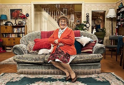 Mrs. Brown's Boys!!  LOVE this show!!!  K  I laugh so hard we cry!