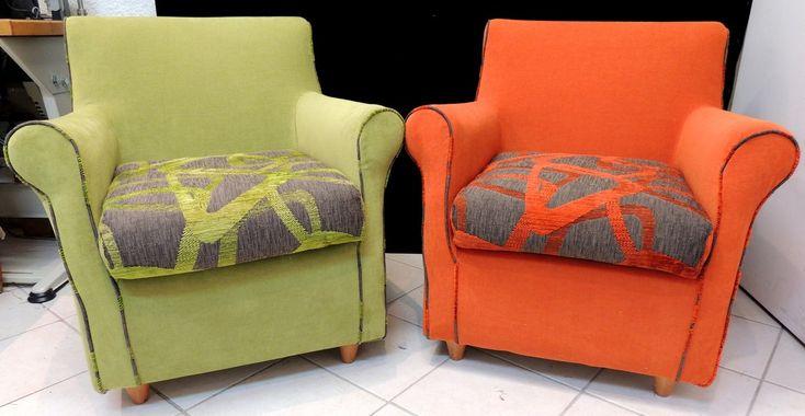 tissus alhmabra et amara pour fauteuils club