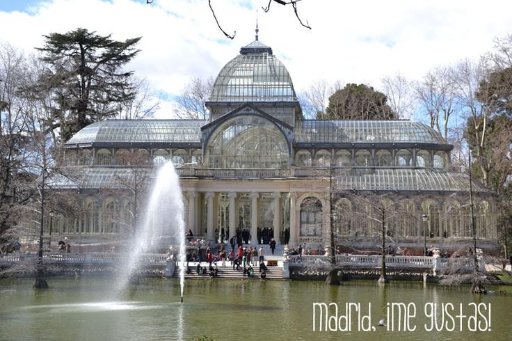 Palacio de Cristal en Madrid
