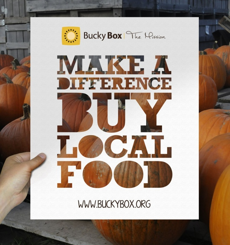 Make A Difference - Buy Local Food