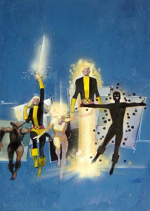 New Mutants by Bill Sienkiewicz