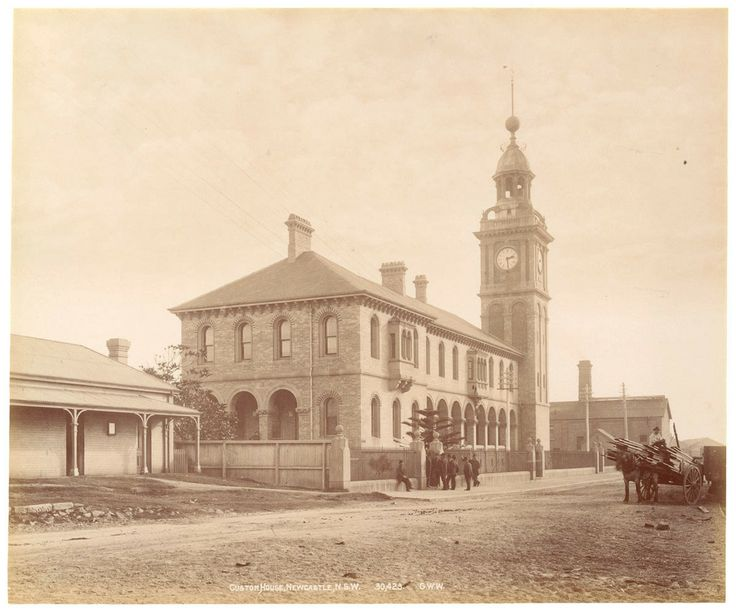 Customs House Newcastle NSW (State Library collection)