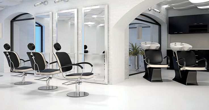 Salon collection Godot by Ayala salon furniture. Hairdresser salon idea in contemporary style. #Salonideas