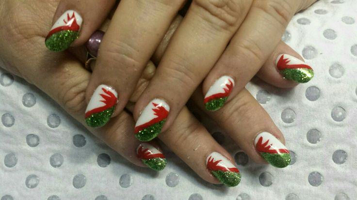 Early Christmas nails :)