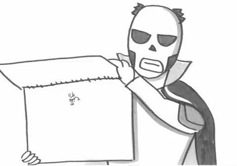 鉄拳 自画像の漫画