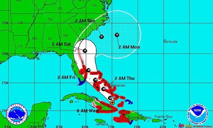Sud-Estul Floridei se pregateste pentru sosirea uraganului Matthew