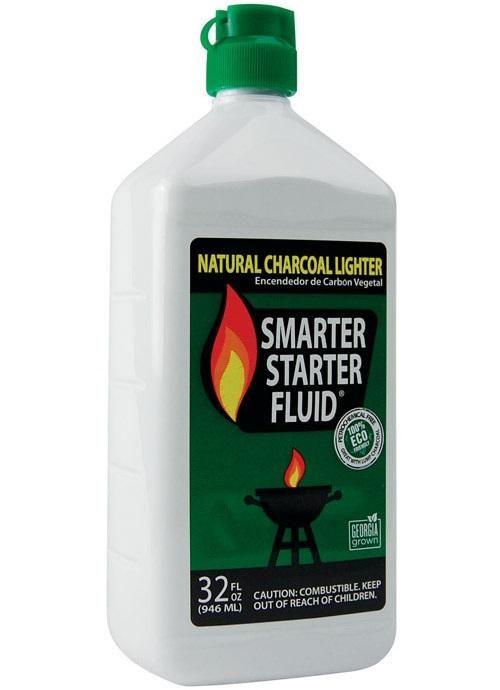Smarter Starter Fluid SSF32 Natural Charcoal Lighter Fluid, 32 Oz